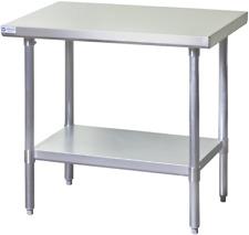 New 30x48 Work Table Food Prep Nsf Stainless Steel Top 18 Gauge Galvanized 7144