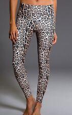$69 New Cheetah Leopard Onzie High Rise Long Yoga Leggings Size S/M
