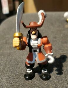 Disney PVC Figures Cake Topper Captain Hook