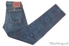 NWT - PRPS P39P17A Dark Blue Denim Cotton Rambler Pants Jeans JAPAN - 32