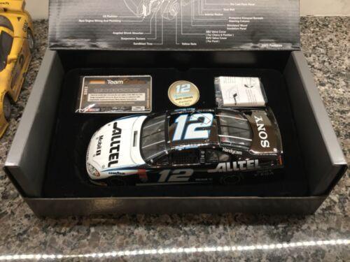Team Caliber 1:24 #12 Ryan Newman Alltel Dodge Nascar Edição Limitada