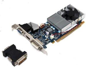 NVIDIA-GeForce-315-512MB-DDR3-PCIe-DVI-VGA-Video-Card-w-HDMI-amp-HDCP-Support