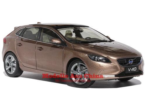 Händler Auflage 1:18 Volvo 2015 V40 T4 Raw Copper-Metallic Raw Copper Metallic