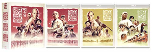 Once Upon A Time In China Trilogy (UK IMPORT) BLU-RAY NEW