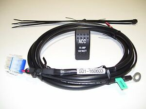 s l300 honda pioneer 1000 3p 5p, 10amp acc accessory wiring harness accessory wiring harness honda pioneer 1000 at metegol.co