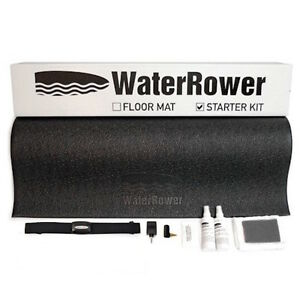 WATERROWER-PROTECTIVE-ACCESSORY-STARTER-KIT-MAT-HEART-RATE-KIT-CLEANING-KIT