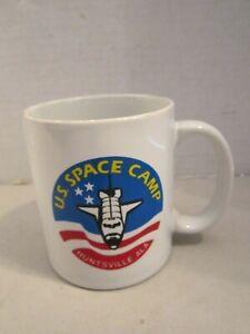 Vintage-U-S-Space-Camp-Mug-Cup-Huntsville-AL-Made-Japan-1960s