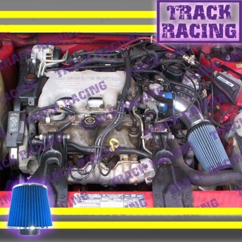 1994 1995//94 95 PONTIAC GRAND PRIX 3.1 3.1L V6 AIR INTAKE KIT Blue