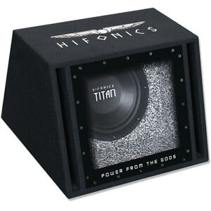 hifonics titan tx 10 bp 25cm woofer subwoofer bandpass. Black Bedroom Furniture Sets. Home Design Ideas