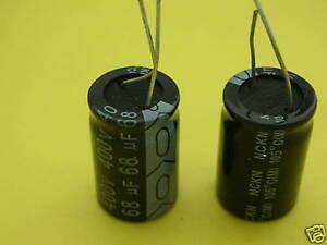 10 PCS NICHICON 180uf 63v CAPACITOR ALUMINUM ELECTROLYTIC 10x20mm 105℃
