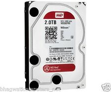"WD 2TB Red Sata Nas Hard Disk Drive 3.5"" 6 Gb/s 64MB Cache 2 TB Western Digital"