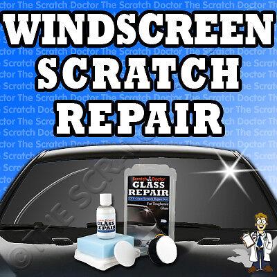 Windscreen Scratch Repair Kit / Glass DIY Remover NO POLISH