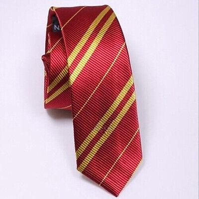 Fancy Necktie Gryffindor Slytherin Ravenclaw Hufflepuff Harry Potter Cos HFCA