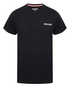Lambretta Homme T shirt bleu marine T-Shirt Logo Core Mod Ska Loisirs SS0745 £ 14 vente