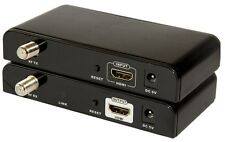 HDMI Extender Splitter Matrix over RF Coaxial Cable up to 500M&1080p supported