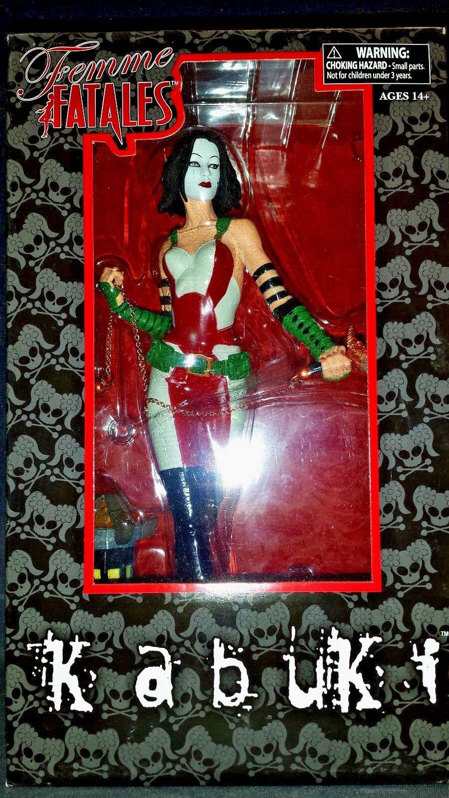 FEMME FATALES  9  KABUKI PVC STATUE (DIAMOND SELECT TOYS 2011) WH