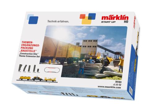 Märklin 78184 Themes Extension Set Construction site #new original packaging#