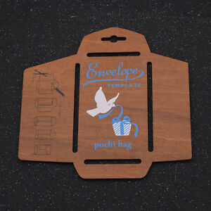 High Quality Image Is Loading DIY Envelope Template Retro Wooden Envelopes Maker Stencil