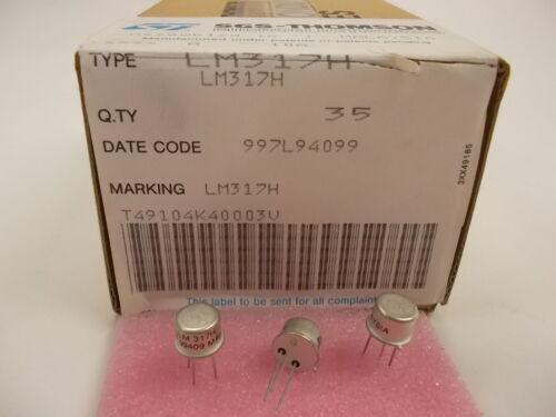 2 pieces LM317H 1.2V TO 37V Adjustable REGULATOR LM317 TO-39 NEW ~