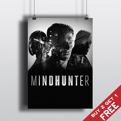 MINDHUNTER TV Series Poster Glossy A3 A4 Photo Art Print Home Wall Fan Deco Gift
