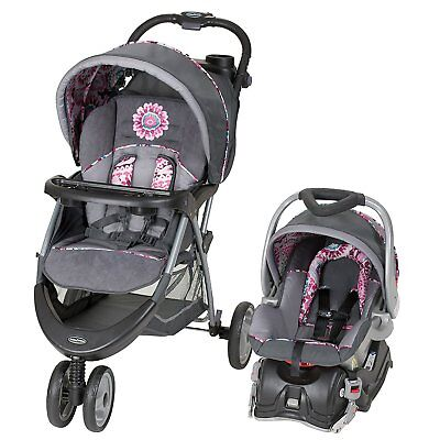 Baby Car Seat And Stroller Set Infant Kid 5 Travel System ...