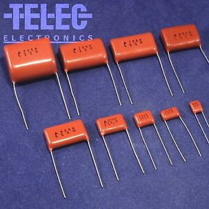 New lot 100 pcs MPE Metallized Polyester Film Capacitor MPE153K 400V