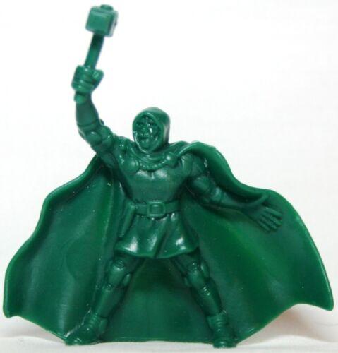 Dr Doom Solid Teal Green Hasbro Marvel Handful of Heroes Wave 1