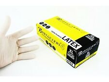 BOX OF 100 Bodyguard Disposable Gloves - Latex  Lightly Powdered LARGE GL8183