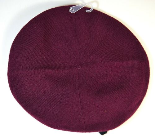 NWT KATE SPADE CONTRAST BOW BERET BEANIE WINTER HAT KS1000466 9 COLORS