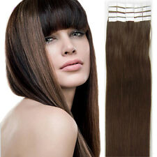 "Premium Seamless Weft Tape in Indian Remy Human Hair Extensions 16""18""20""22"" US"