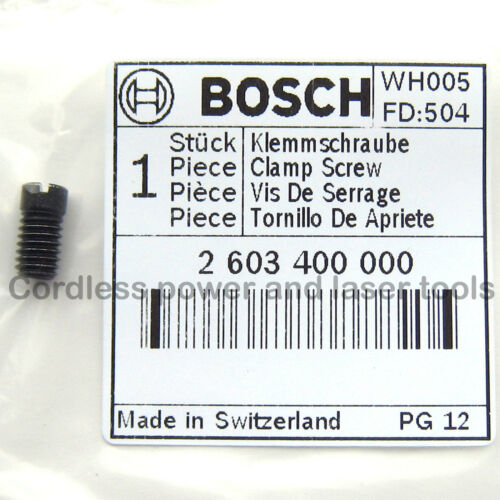 Bosch Jigsaw Blade Locking Grub Screw GST PST 50 52 54 60 65 80 2000 2603400000