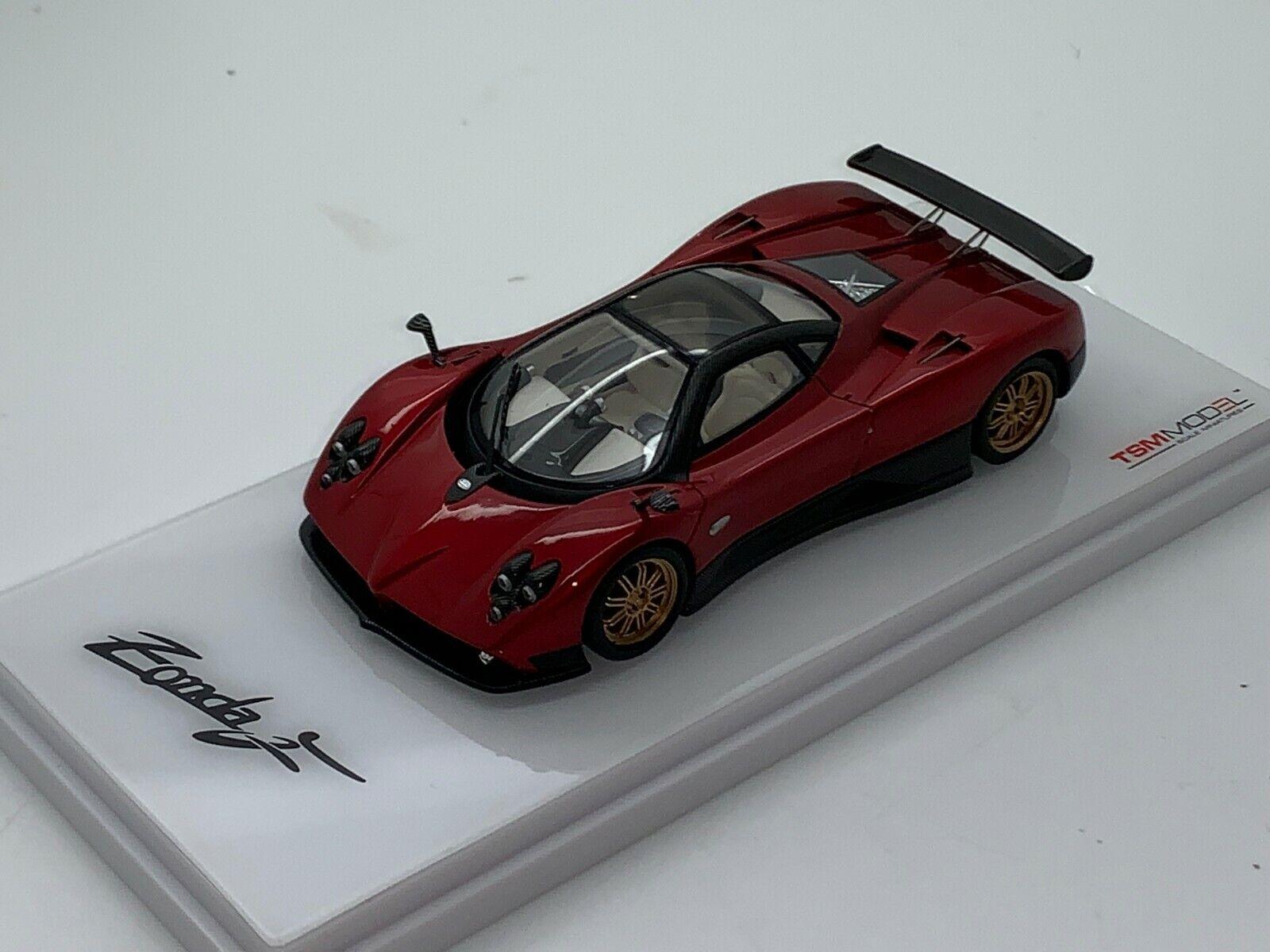 Nuevo 1 43 TSM TrueScale Pagani Zonda F V12 AMG Mercedes n Huayra S resinhandbuilt