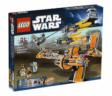 Brand New LEGO Star Wars 7962 Anakin Skywalker and Sebulba's Podracers Sealed