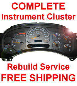 Image Is Loading Chevy Tahoe Sdometer Instrument Cer Gauge And Display