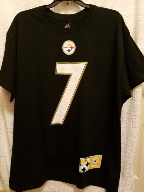 Buy Majestic Shirt - Pittsburgh Steelers  7 Ben Roethlisberger L ... 937baf179