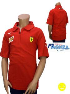 FORMULA 1 SCUDERIA FERRARI 2019 Team T Shirt Bambini Puma
