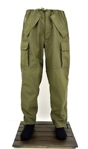 Army-Wet-Weather-Goretex-Over-Trousers-Waterproof-Combat-Pants-Trouser-Military