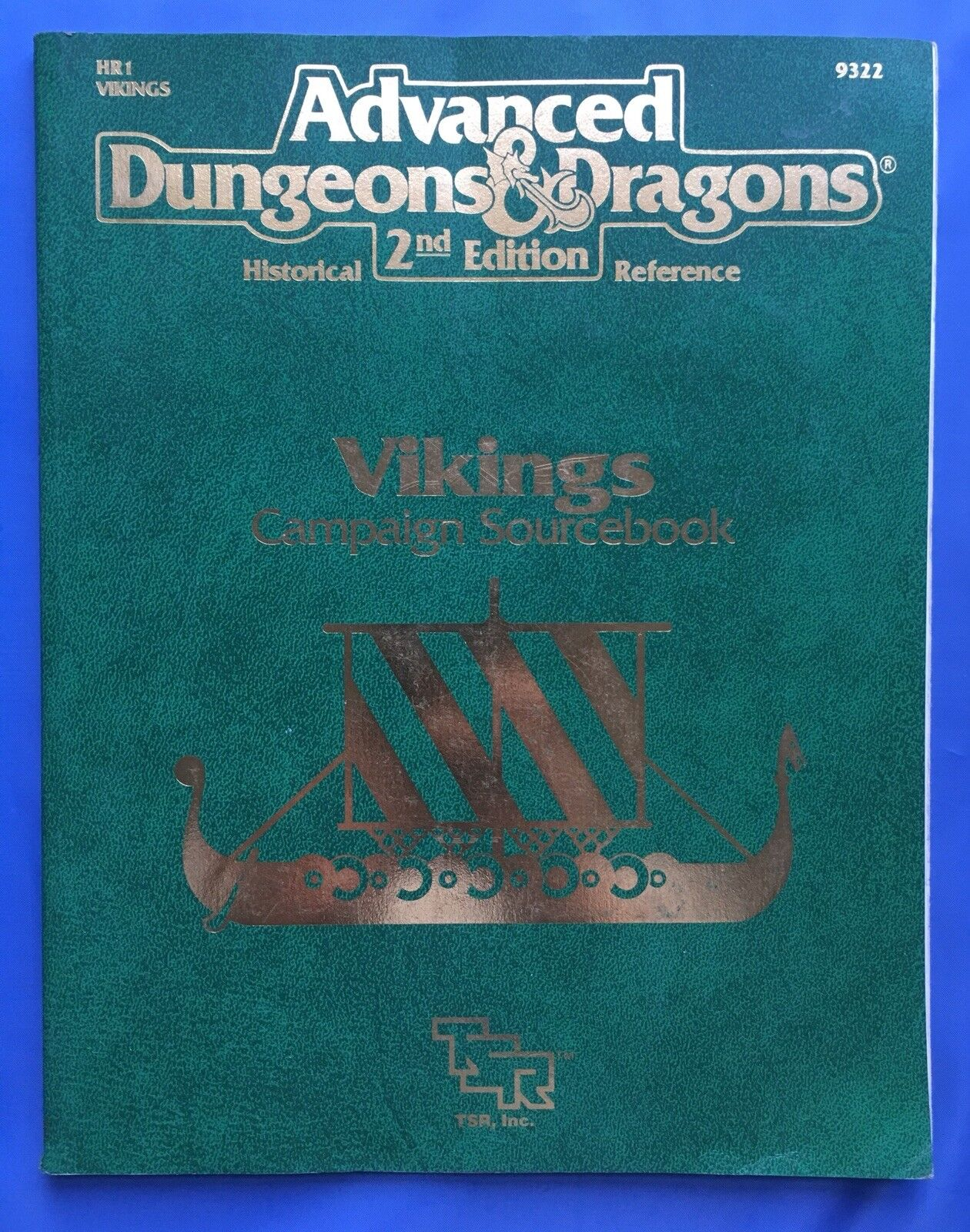 Vikings Campaign Sourcebook AD&D Advanced Dungeons & Dragons 2nd Ed TSR 9322