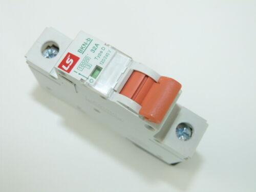 Cerus Miniature Circuit Breaker 1p 32a UL 1077 D-Curve Din Rail Mountable NEW