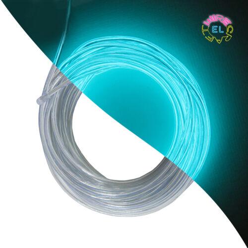 5 METRI EL Filo-TRON Neon Glow 2.3mm di DIAMETRO £ 2.50 per metro *