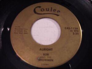 Bob-and-the-Showmen-Alright-Dawning-1965-45rpm-Wisconsin-GARAGE
