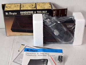 Vintage-NIB-St-Regis-Telephone-Amplifier-System-Hands-Free-Two-Way-TP-707