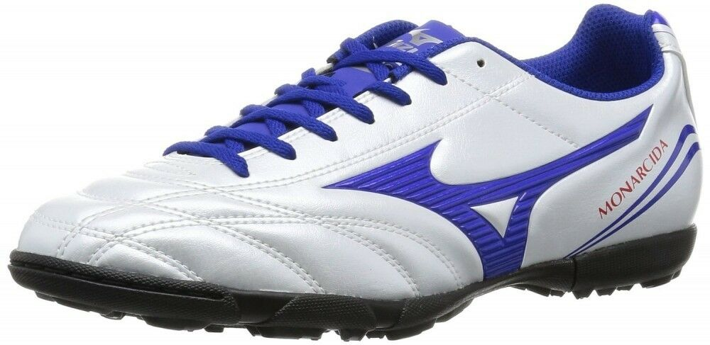 Mizuno soccer training scarpe MONARCIDA pearl FS AS P1GD1623 Super bianca pearl MONARCIDA X blu b188f4