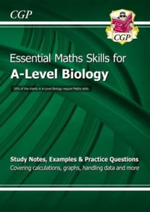 CGP Books-New A-Level Biology: Essential Maths Skills BOOK NEUF