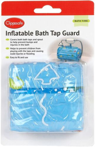 Clippasafe INFLATABLE BATH TAP GUARD Baby Child Safety BN
