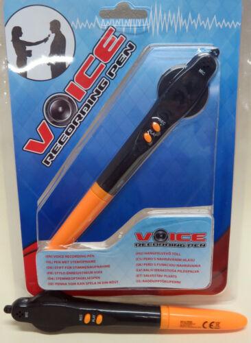 Lernspiel . NEU 2 Stück Kugelschreiber mit Aufnahme-Funktion. Diktiergerät