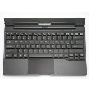Fujitsu-Stylistic-Q704-Tablet-Us-Keyboard-Docking-Station-FPCKE080-No-Ac-Adapter
