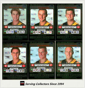 2001-Teamcoach-Trading-Cards-Silver-Prize-Team-set-West-Coast-6