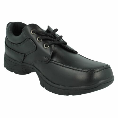 Details about  /Boys N1094 Black Lace Up School Shoes By Cool 4 School Retail Price