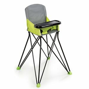 Details about Portable Feeding High Chair Booster Seat Pop Sit Green Baby  Toddler Handy Folds